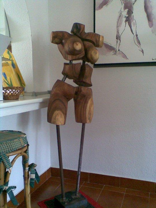 Skulpturen Holz Dieter Borst